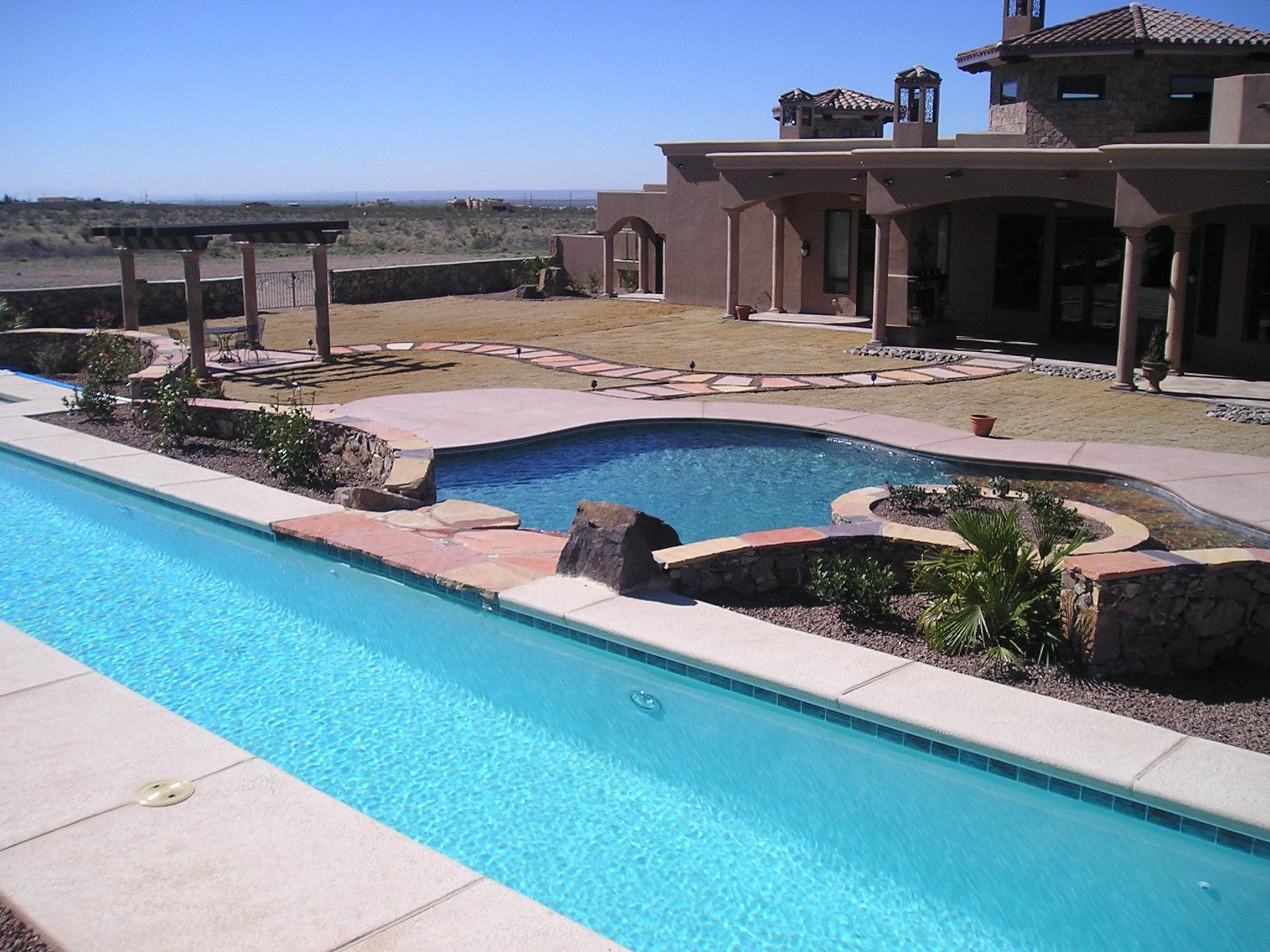 Olympus digital camera paradise pools of el paso for Pool design el paso tx
